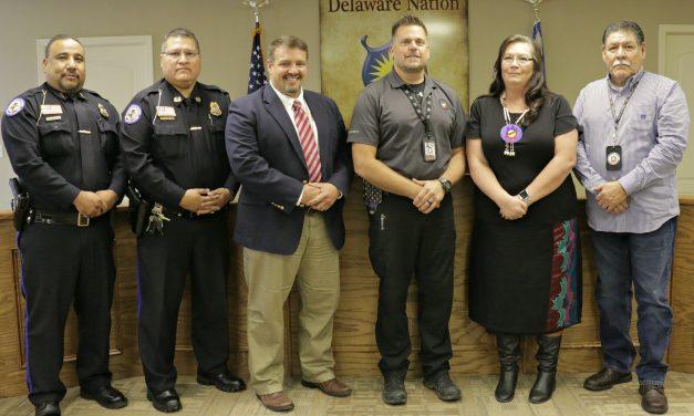 Memorandum of Agreement Signed between Delaware Nation and Bureau of Indian Affairs