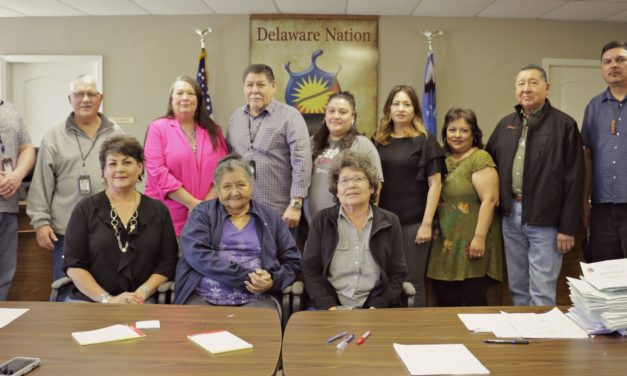 Delaware Nation Makes History
