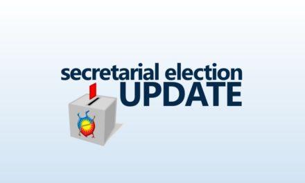 Secretarial Election Update